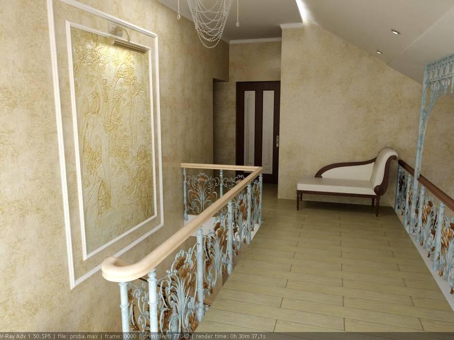 Частный дом г. Невинномысск. гостиная Гостиная в классическом стиле от Цунёв_Дизайн. Студия интерьерных решений. Классический