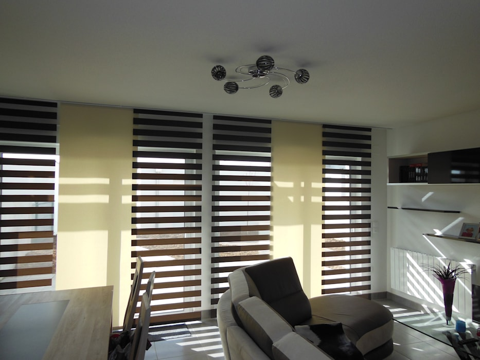 pans japonais: Salon de style  par Decoration Christine