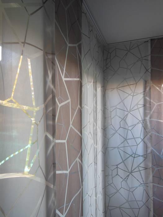 pans japonais Salon moderne par Decoration Christine Moderne