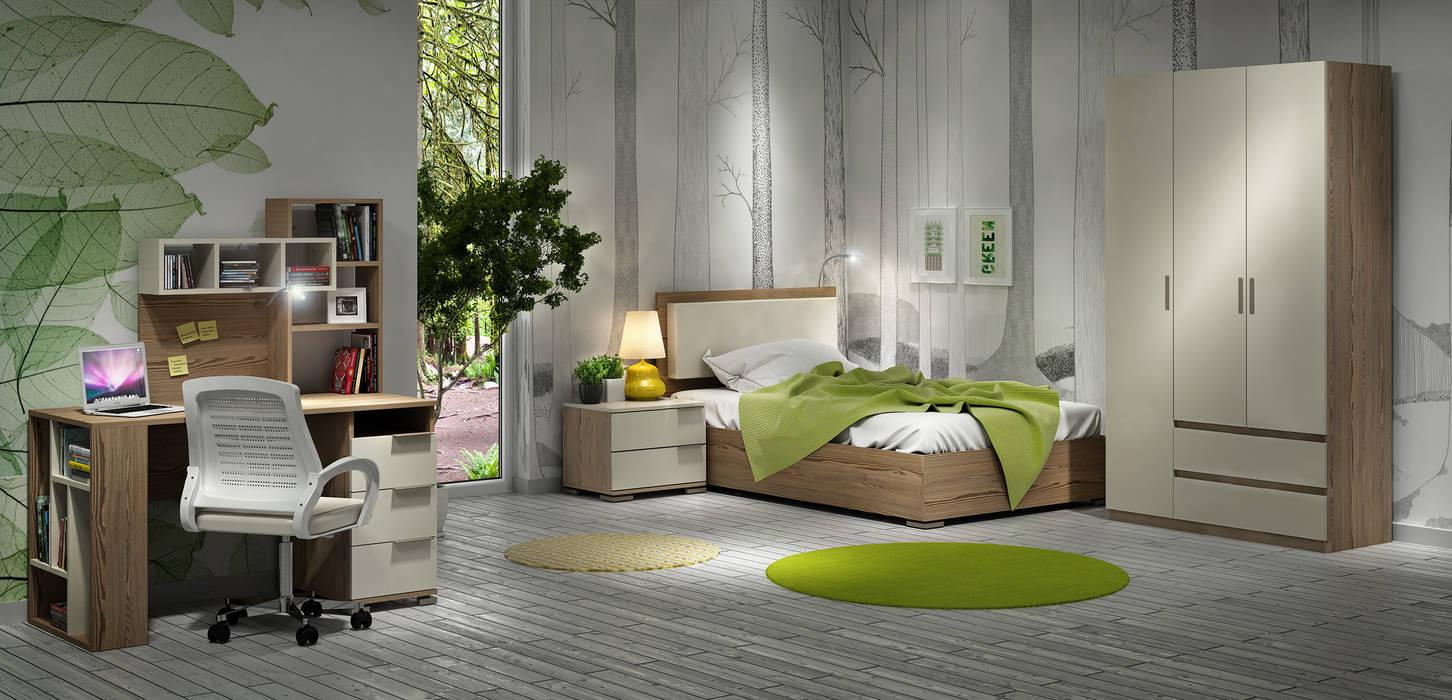 MİA MOBİLİ – Cream:  tarz Çocuk Odası, Modern