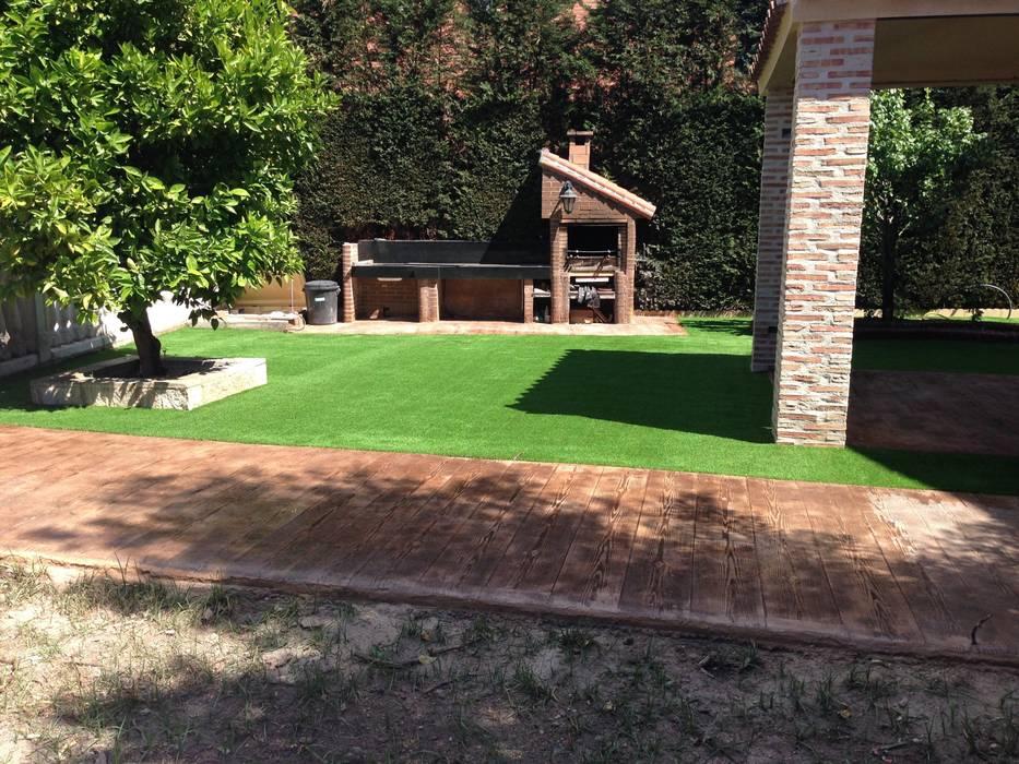 Césped artificial Jardines de estilo moderno de Allgrass Solutions Moderno