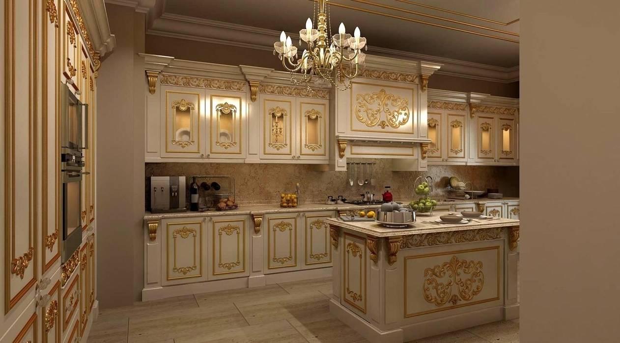 Cocinas de estilo clásico de Asortie Mobilya Dekorasyon Aş. Clásico