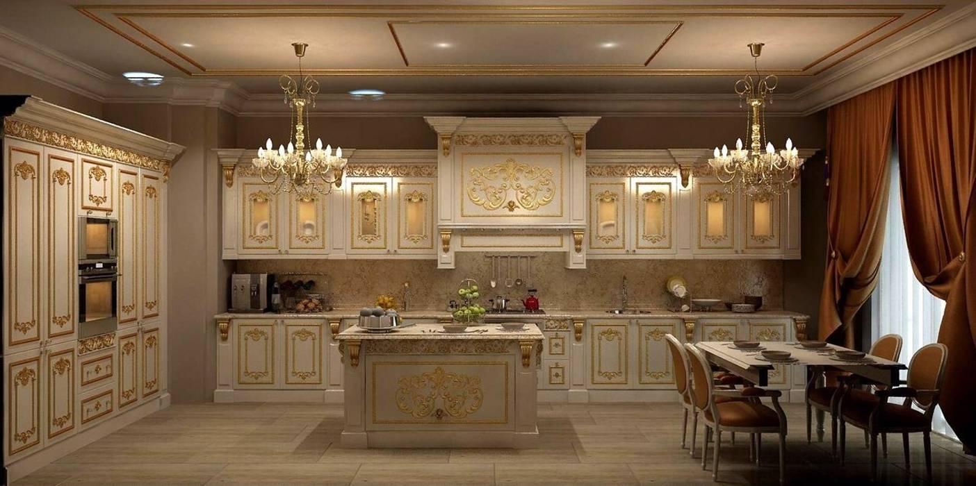 Classic style kitchen by Asortie Mobilya Dekorasyon Aş. Classic