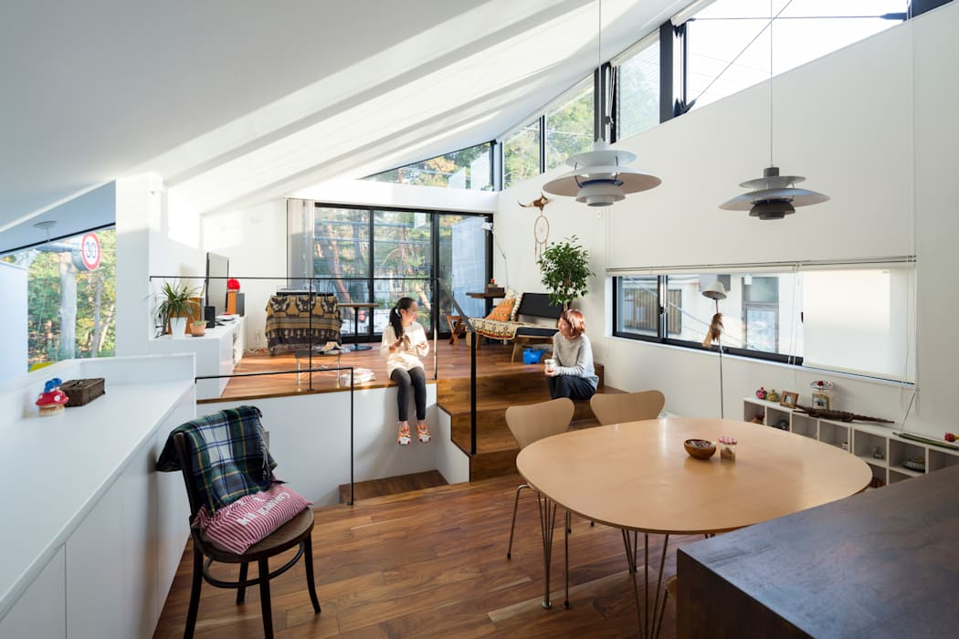 Living room by Studio R1 Architects Office