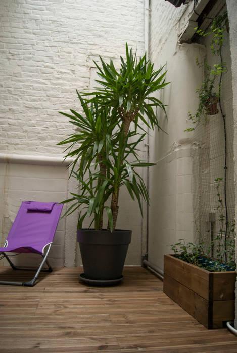 Jardins de inverno modernos por L&D Intérieur Moderno