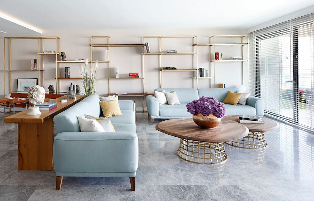 OLABELLA // RESIDENTIAL PROJECT Modern Oturma Odası Escapefromsofa Modern