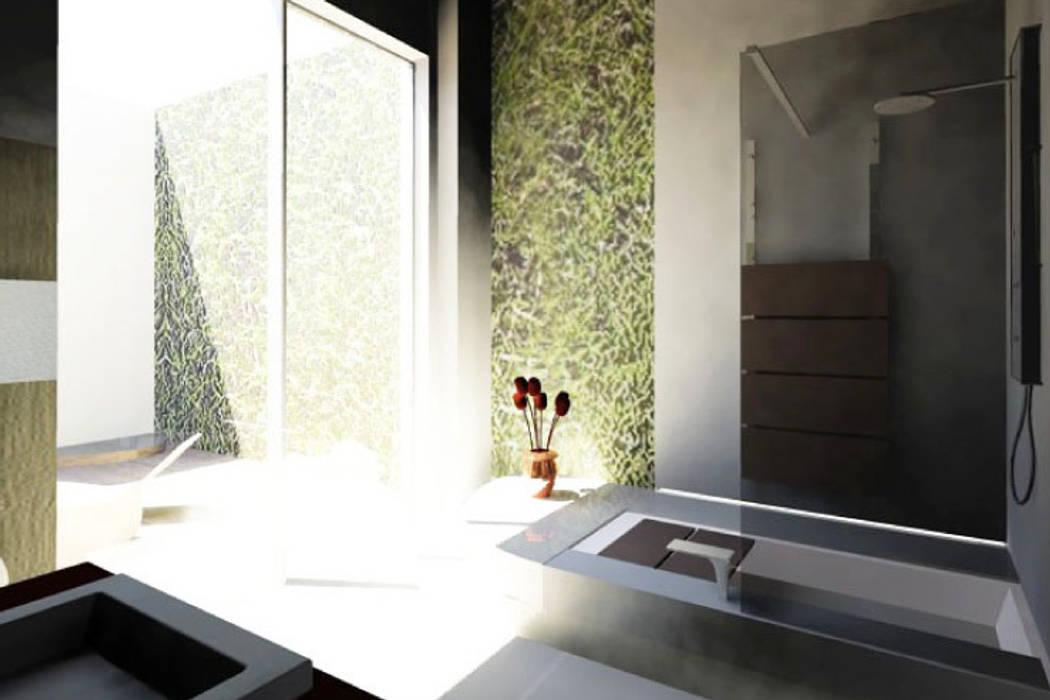 Salle de Bain 2: Salle de bains de style  par Camille DELSAUX