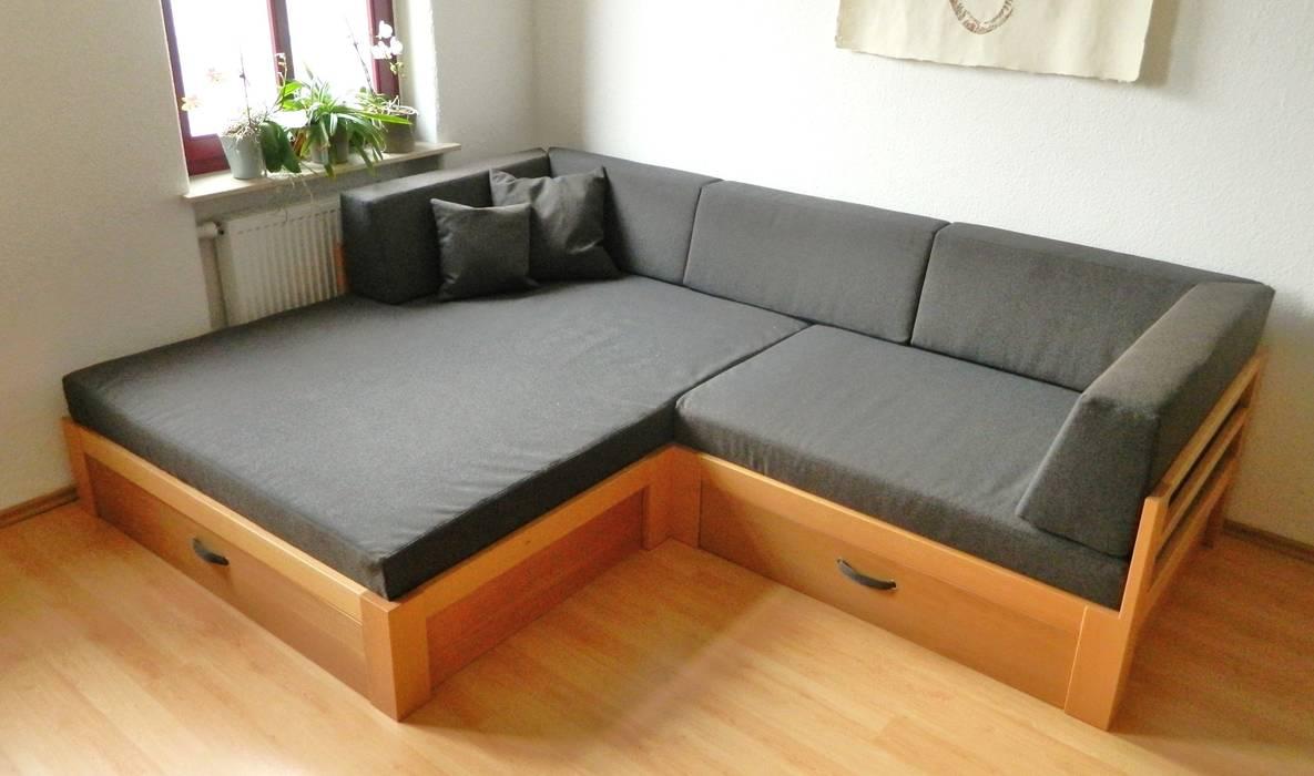 Sofa mit viel stauraum: modern von traumkonzepte ...