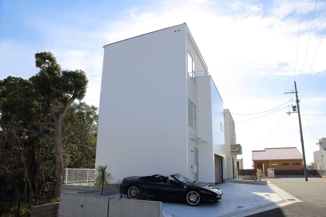 K邸ガレージハウス モダンな 家 の 一級建築士事務所・スタジオインデックス モダン