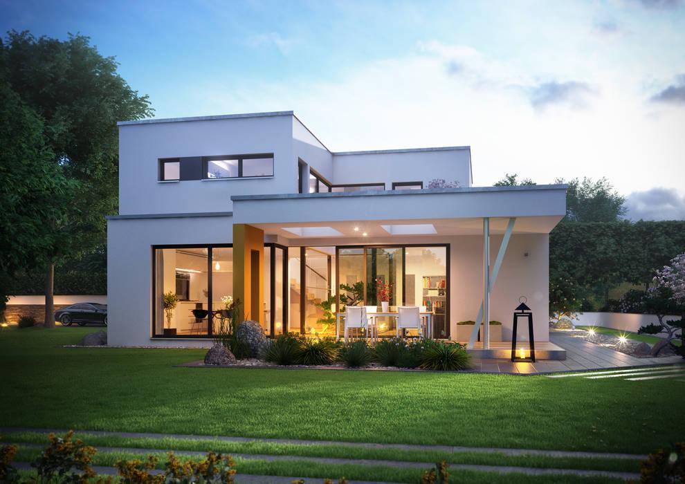 Modern Houses by Büdenbender Hausbau GmbH Modern Wood Wood effect