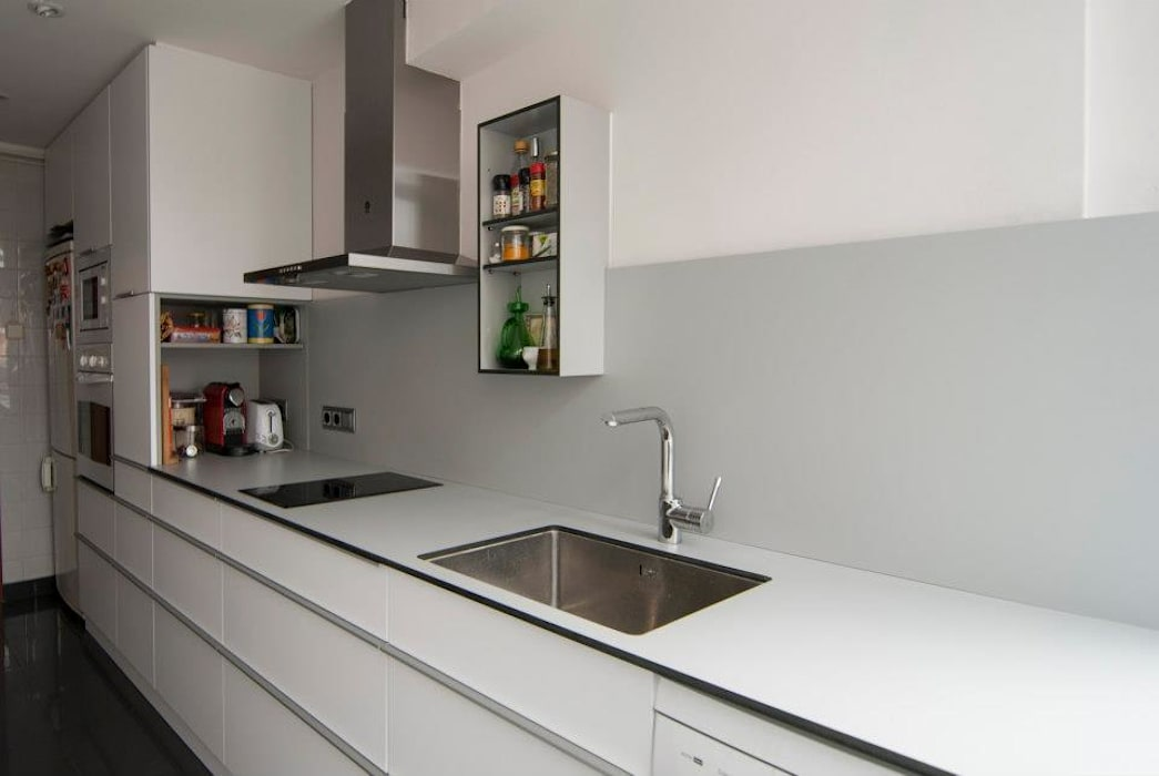 Superfície de trabajo Cocinas modernas de Trestrastos Moderno