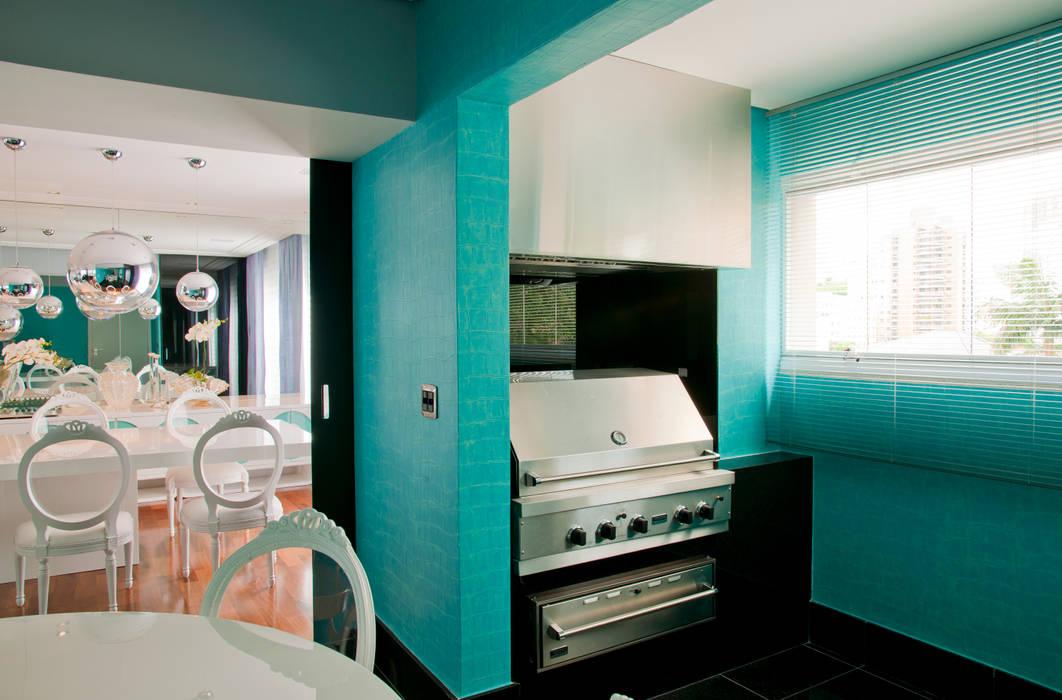 Apartamento Colorido - Depois Brunete Fraccaroli Arquitetura e Interiores Cozinhas modernas