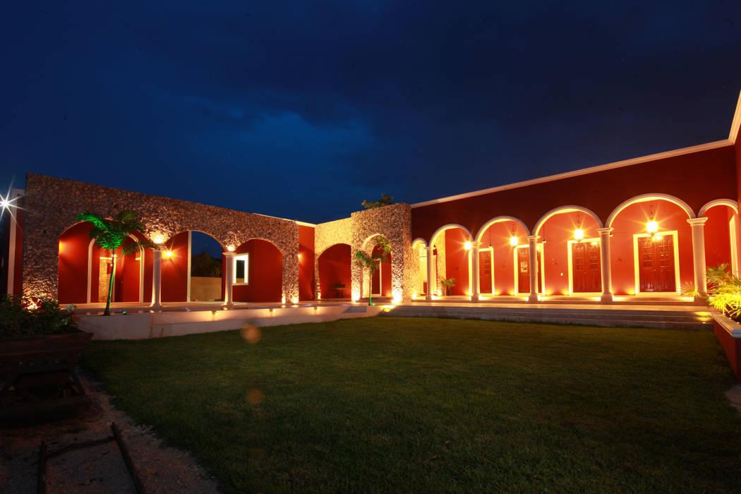 Jardín: Jardines de estilo rural por Arturo Campos Arquitectos