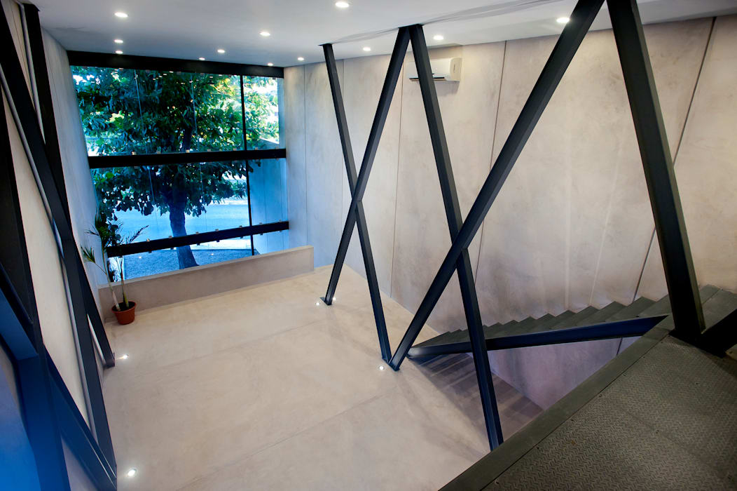 Mezzanine Edificios de oficinas de estilo moderno de Arturo Campos Arquitectos Moderno