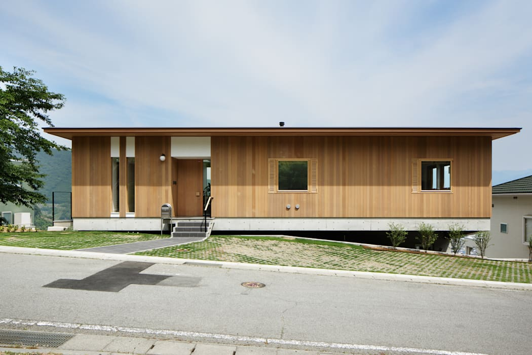 Scandinavian style houses by atelier137 ARCHITECTURAL DESIGN OFFICE Scandinavian Wood Wood effect