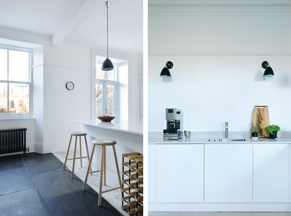 South Crown Street Kitchen: modern Kitchen by Brown + Brown Architects