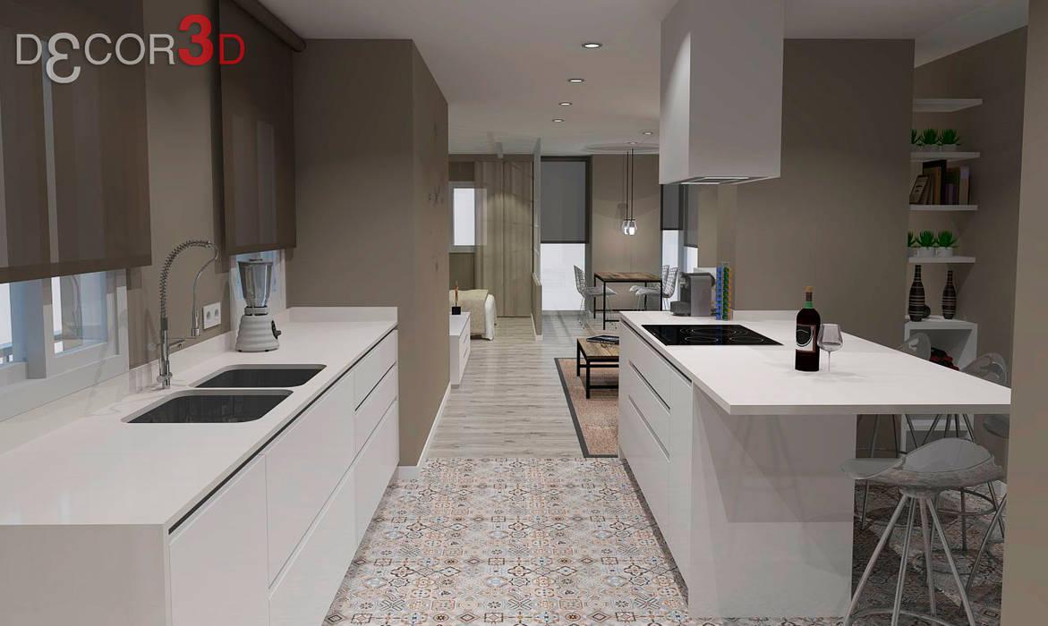 Kitchen by Nuria Decor3D ,