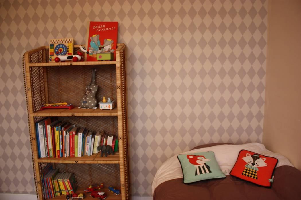 Chambre enfants (après):  de style  par Lignes & Nuances