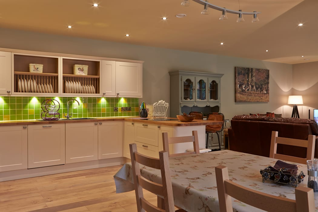 Cuisine de style  par Architects Scotland Ltd, Moderne