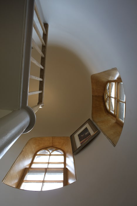 Interior of Stair Tower:  Hotels by Architects Scotland Ltd