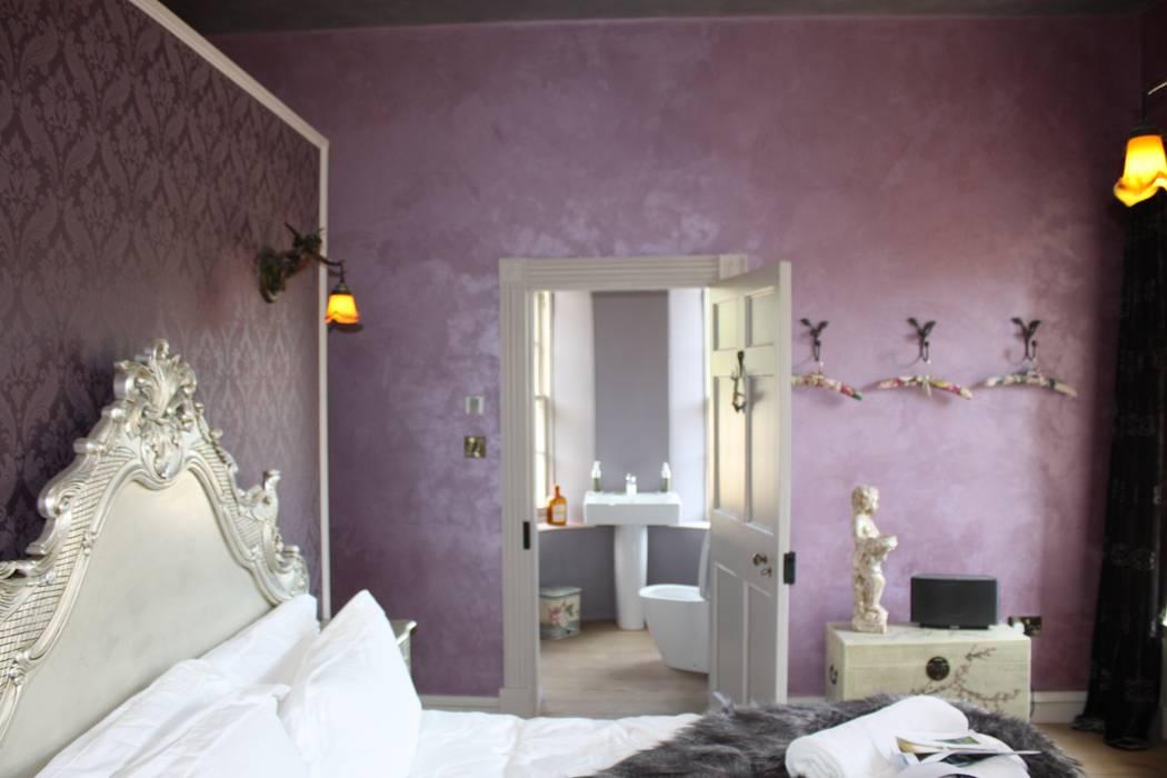 Bridal Bedroom:  Hotels by Architects Scotland Ltd