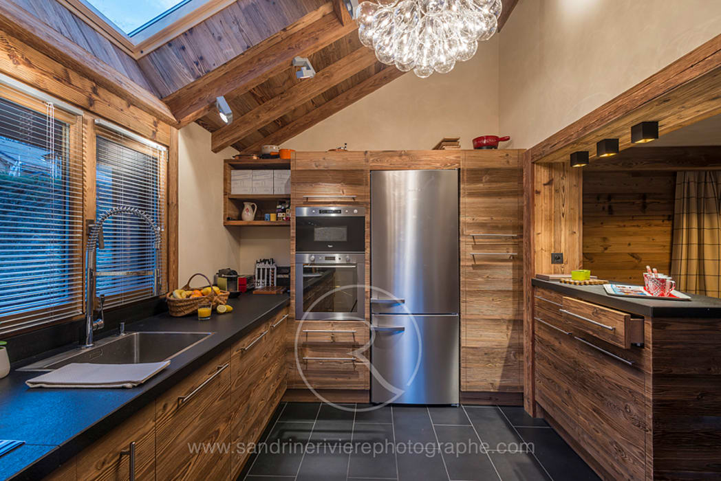 Sandrine RIVIERE Photographie Rustic style kitchen