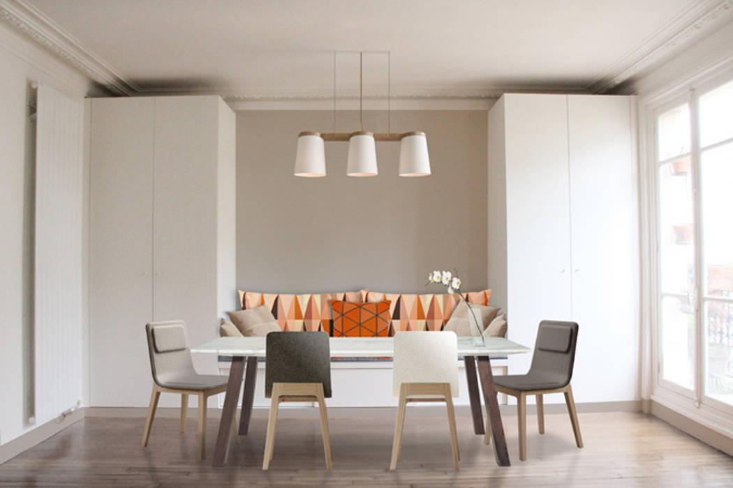 اتاق غذاخوری توسطYeme + Saunier, اسکاندیناویایی
