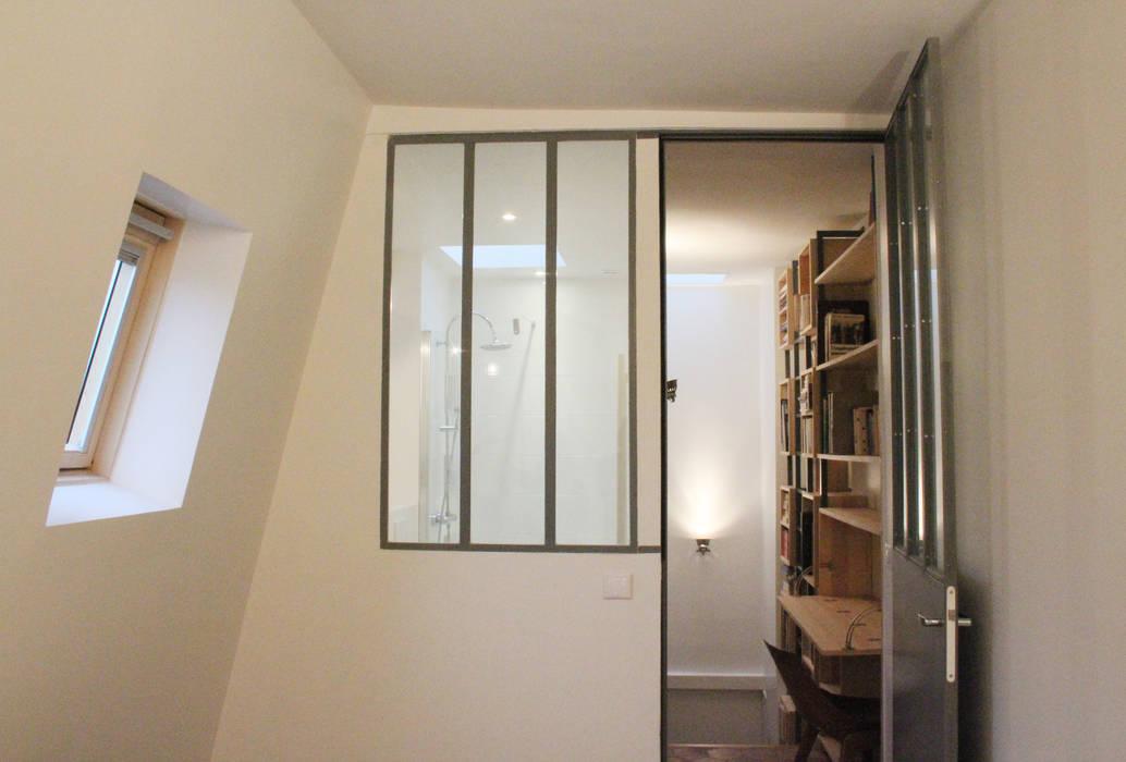 Suite parentale – chambre + verrière type atelier sur sdb: chambre ...