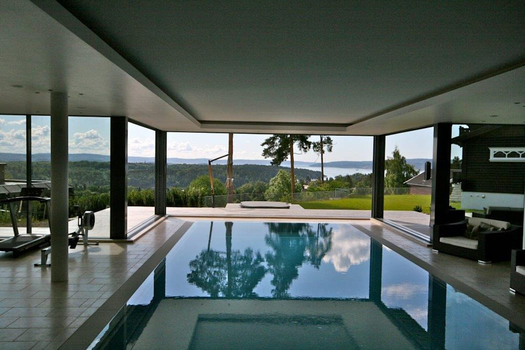 Why just look at a wonderful view when your can become part of it? Modern houses by homify Modern