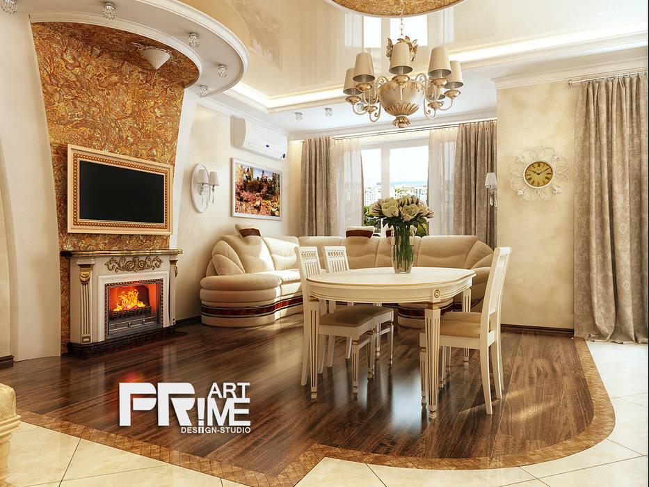 Квартира-студия Классика. Гостиная в классическом стиле от 'PRimeART' Классический