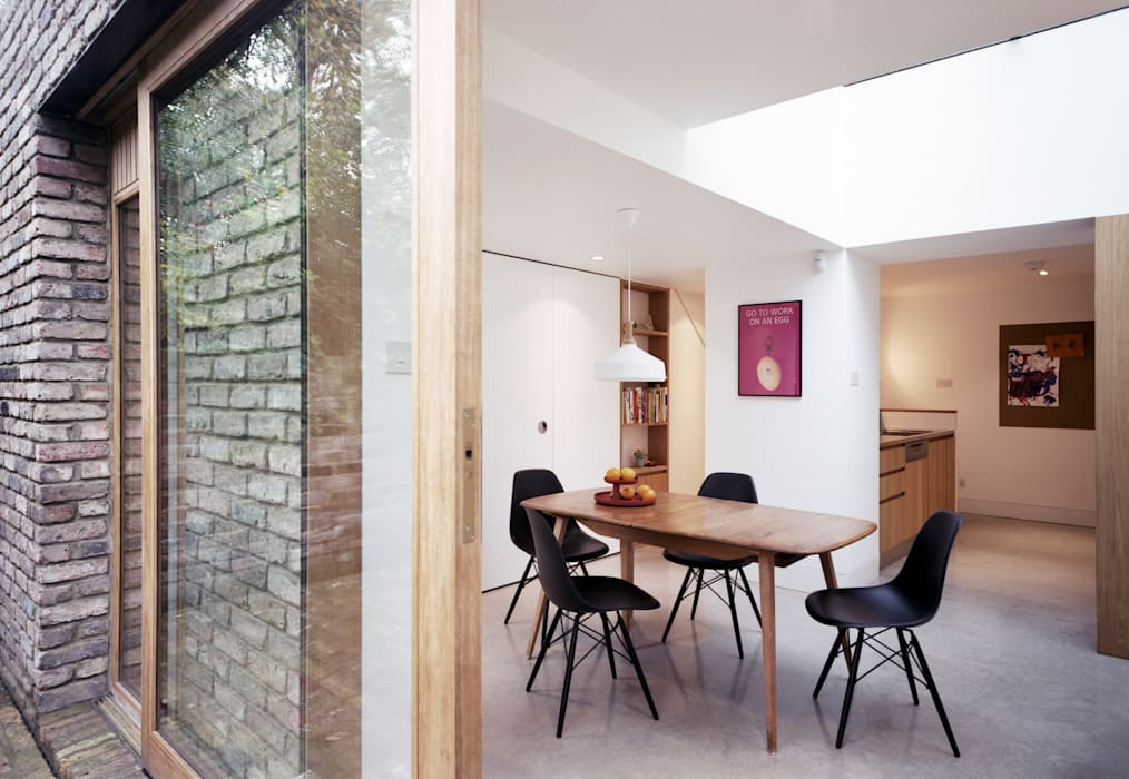 Dining Area Modern Dining Room by ABN7 Architects Modern