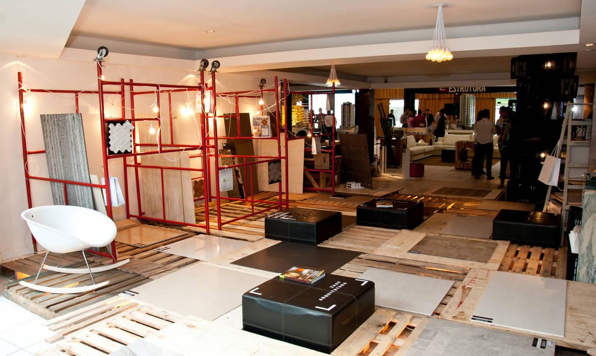 Stand Di Fatto Centros de exposições industriais por ZAAV Arquitetura Industrial