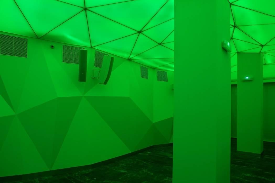 Pared de local de diseño. Bares y clubs de estilo moderno de MUDEYBA S.L. Moderno Tablero DM
