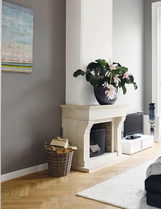 open haard Klassieke woonkamers van choc studio interieur Klassiek