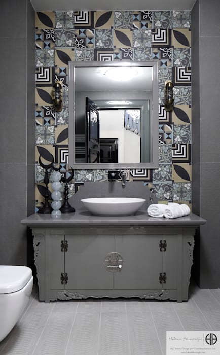 Eclectic style bathroom by homify Eclectic