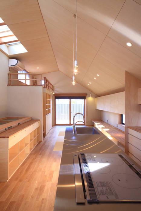 LDK2 モダンな 家 の 悠らり建築事務所 モダン