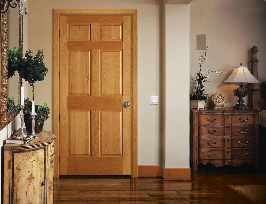 Puerta de interior 1 de homify Clásico