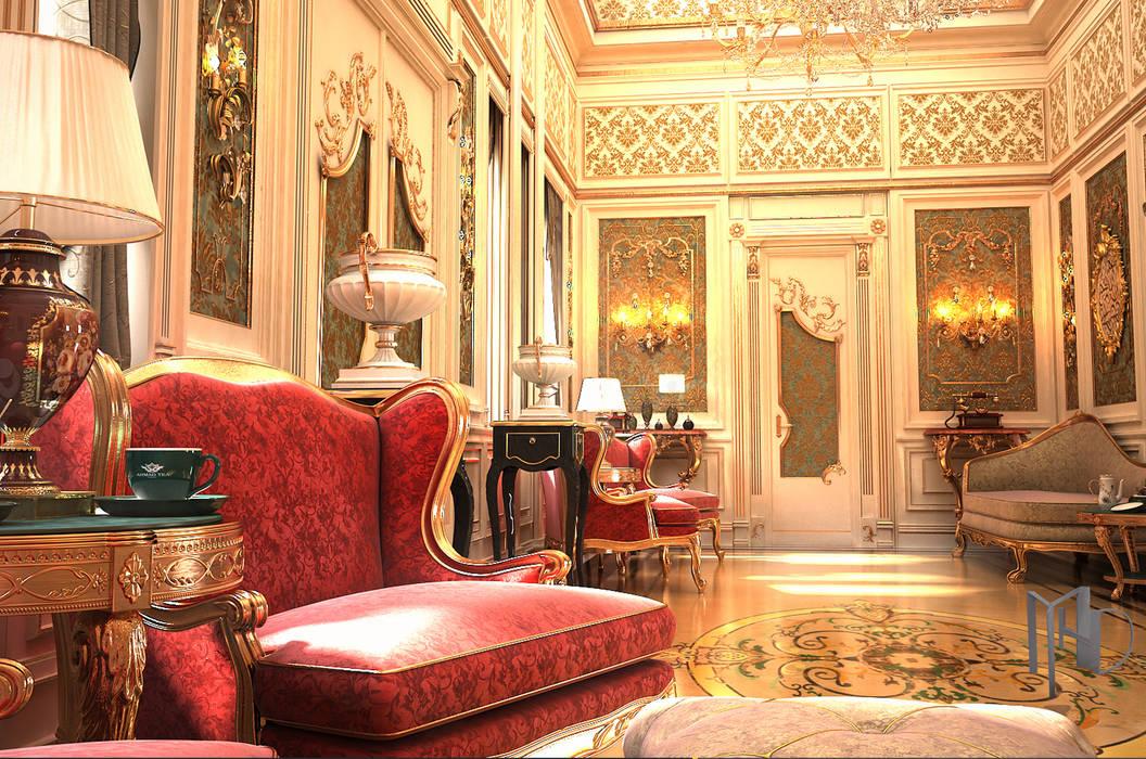 Corridor & hallway by MHD Design Group, Classic