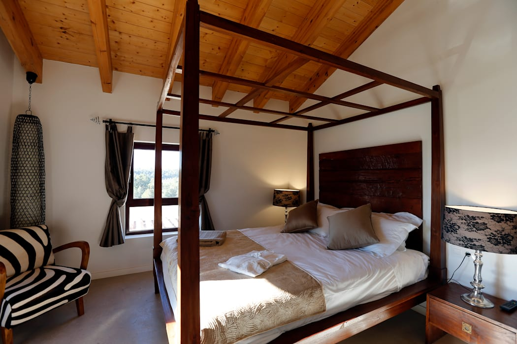 Habitaciones Hoteles de estilo ecléctico de 3 M ARQUITECTURA Ecléctico