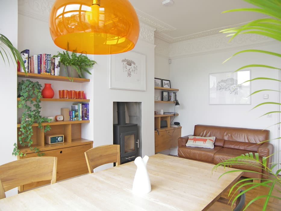 House for a mathematician in Bristol Modern dining room by Dittrich Hudson Vasetti Architects Modern