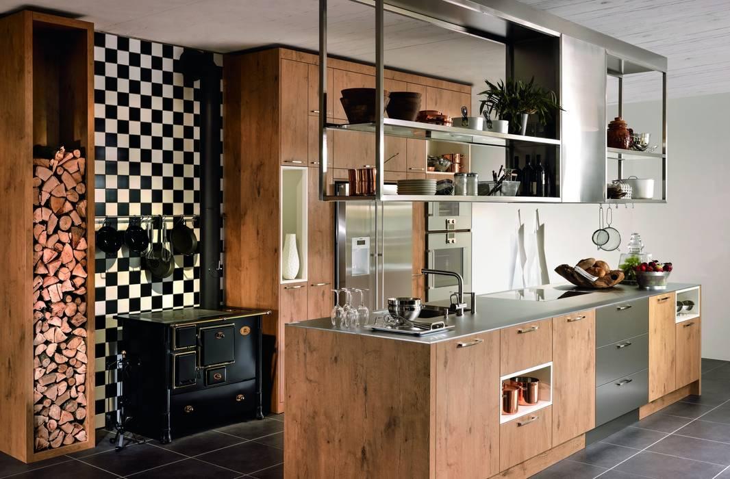 Cocinas de estilo rústico de KH System Möbel GmbH Rústico