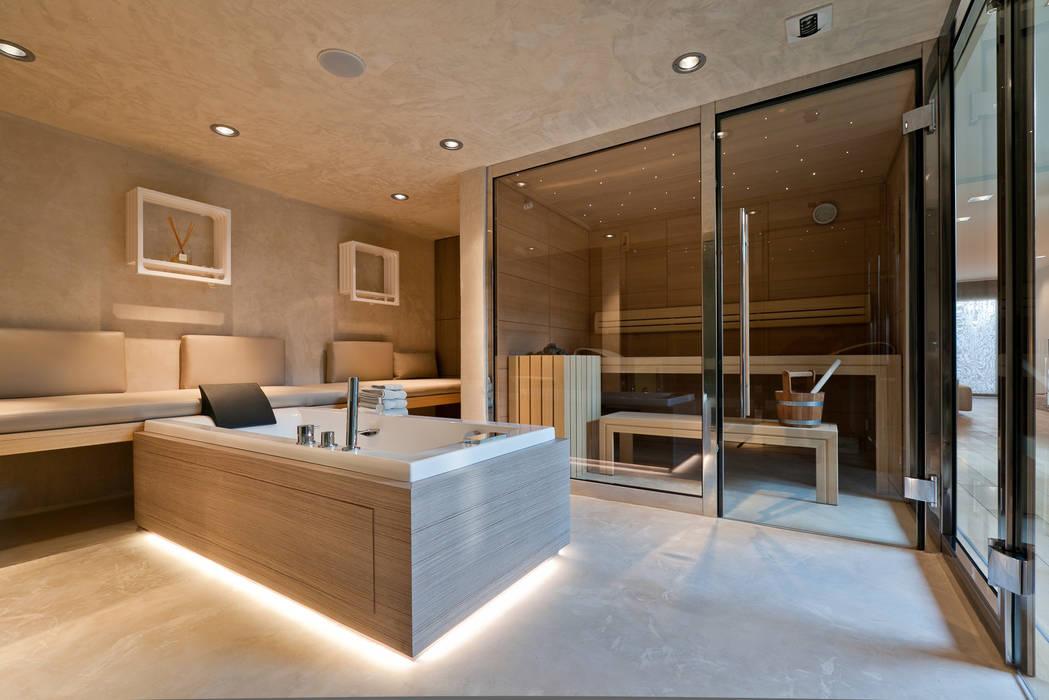 Espace Sauna Hammam Balneotherapie Salle De Bains De Style Par