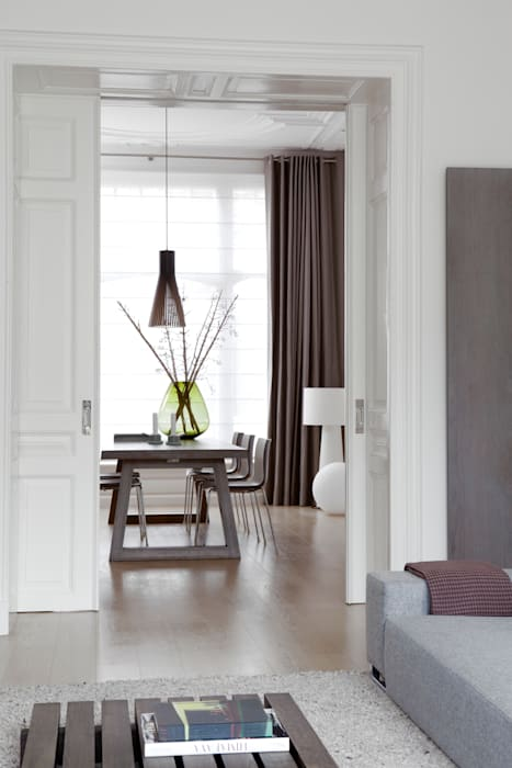Salas de jantar modernas por Remy Meijers Interieurarchitectuur Moderno