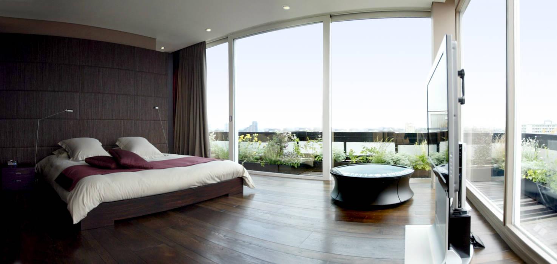 Chambre : Chambre de style de style Moderne par Atelier TO-AU