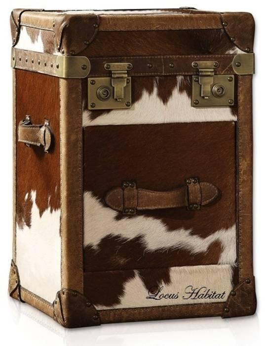 Leather Storage Trunks: classic  by Locus Habitat,Classic