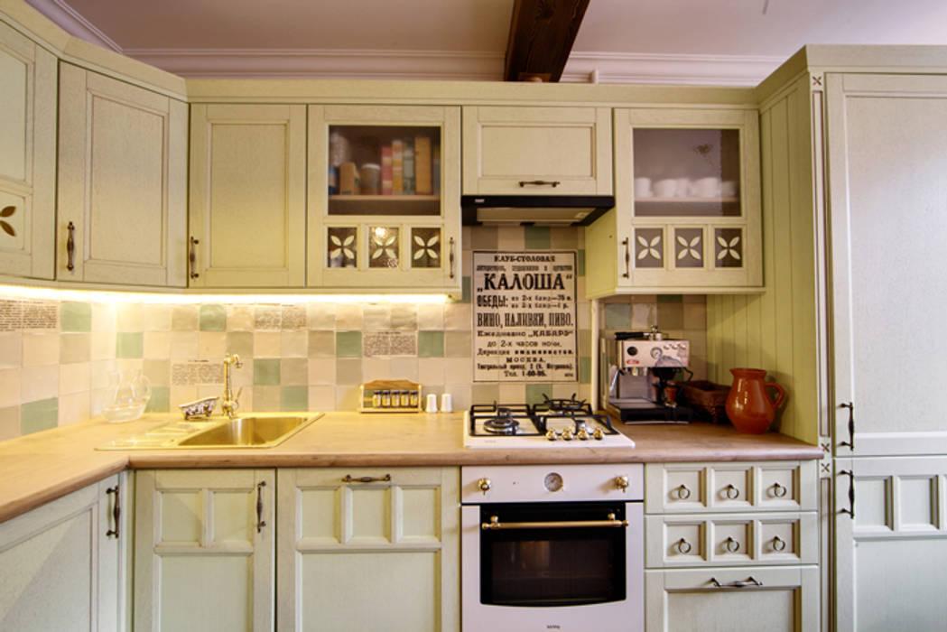 Cozinhas rústicas por Порядок вещей - дизайн-бюро Rústico