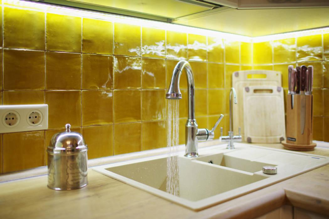 Salon original par Порядок вещей - дизайн-бюро Éclectique