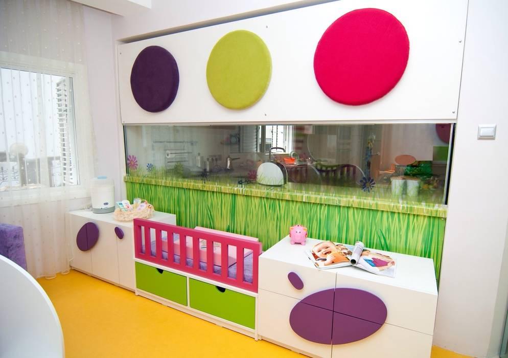 Şölen Üstüner İç mimarlık – Perçin evi:  tarz Çocuk Odası, Modern