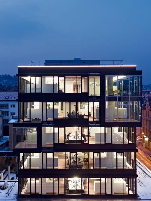 Schlaich Bergermann und Partner GmbH Stuttgart   Deutschland:  Bürogebäude von Baierl & Demmelhuber Innenausbau GmbH,Modern