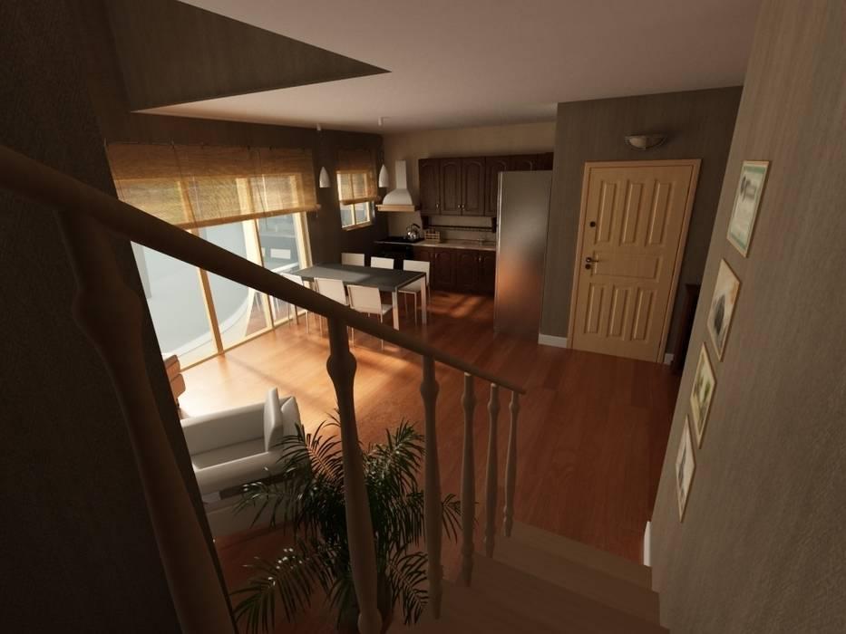 MN Project & Interior – Maşukköy Evleri:  tarz Oturma Odası